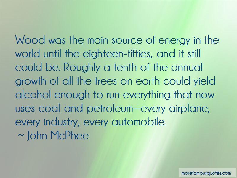 Coal And Petroleum Quotes