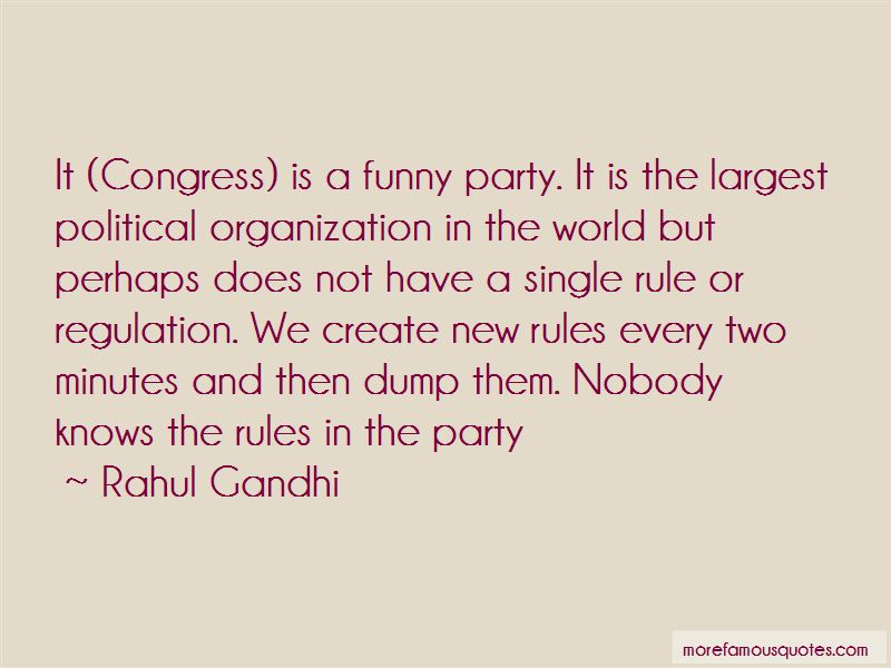 Congress Party Funny Quotes
