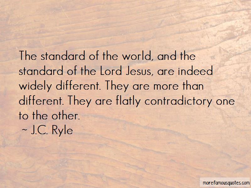 Contradictory Jesus Quotes