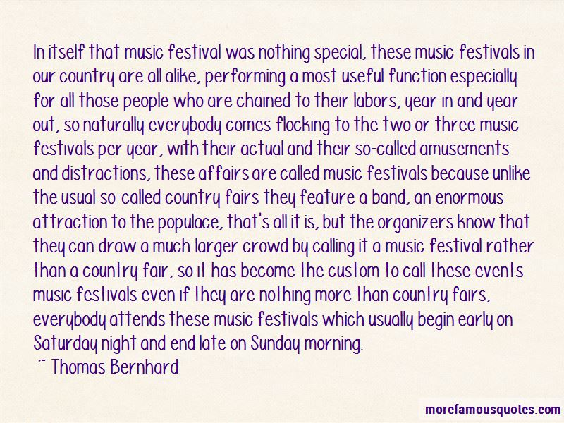 Country Music Festival Quotes