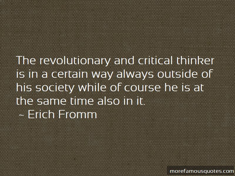 Critical Thinker Quotes