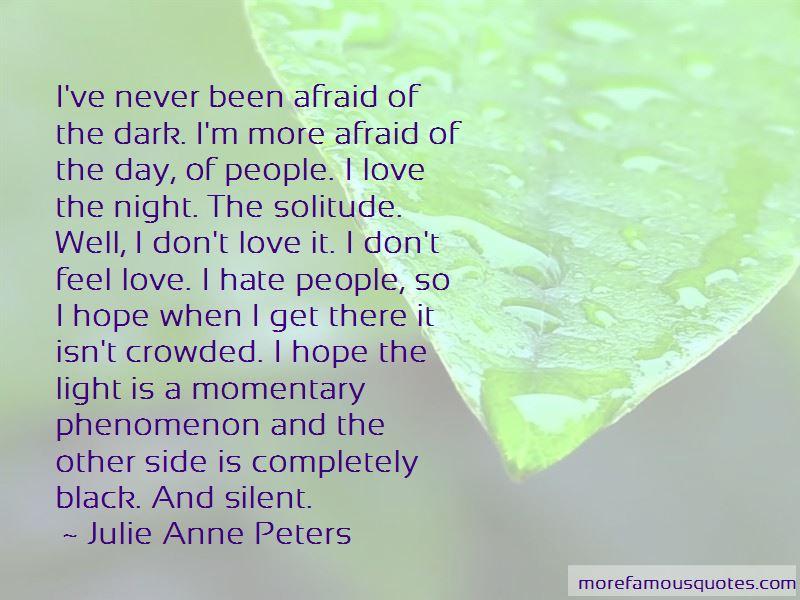 Dark Side Of Light Quotes