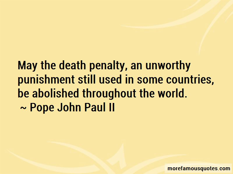Death Penalty Abolished Quotes