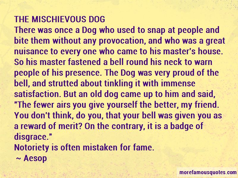 Disgrace Dog Quotes
