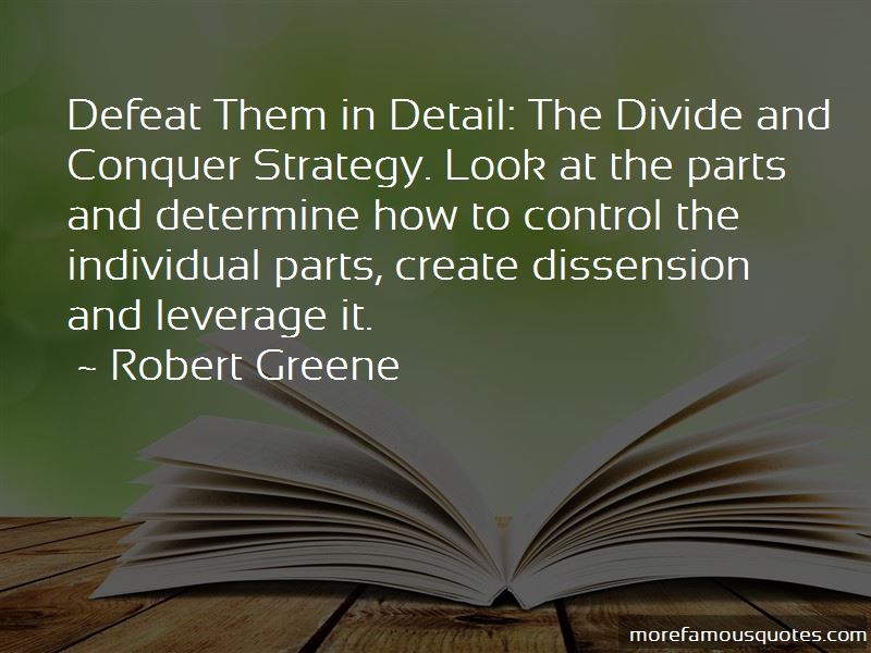 Divide And Conquer Quotes