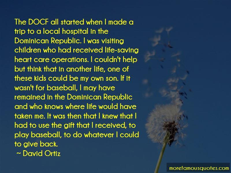 Dominican Republic Baseball Quotes