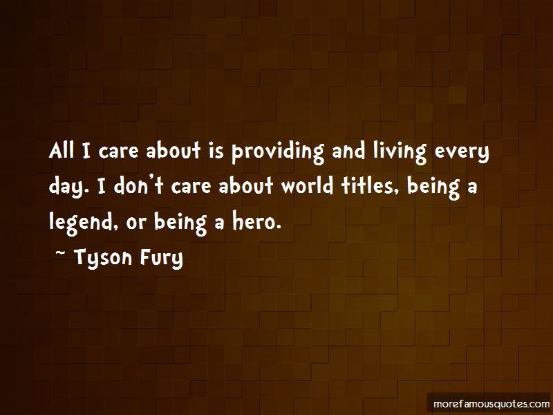 Don't Care About World Quotes
