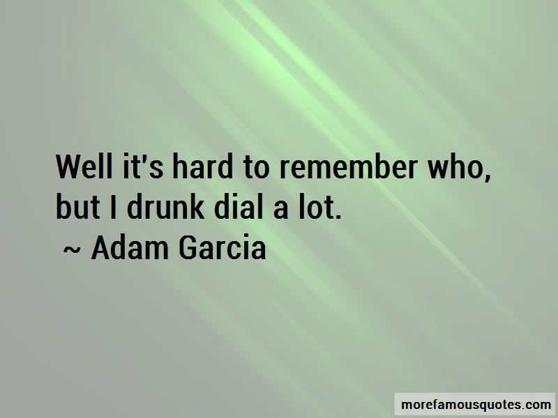 Drunk Dial Quotes