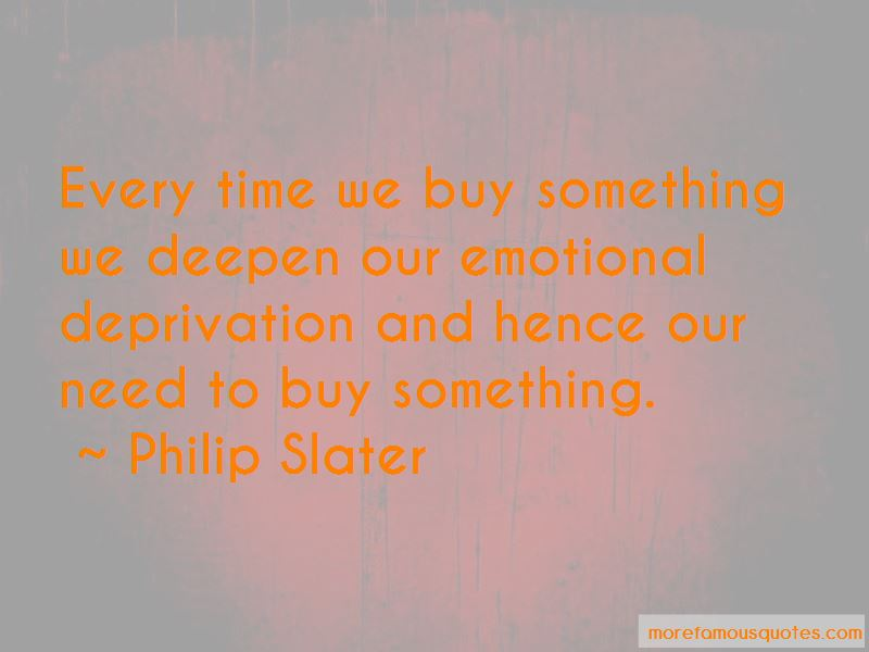 Emotional Deprivation Quotes