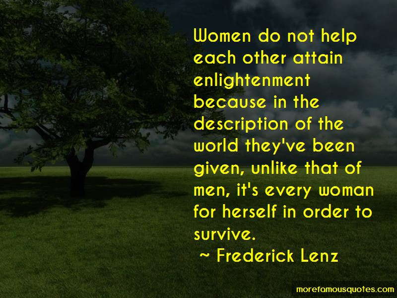 Every Woman For Herself Quotes