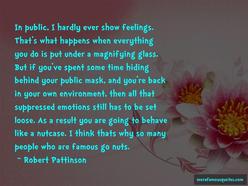 Famous Hiding Quotes