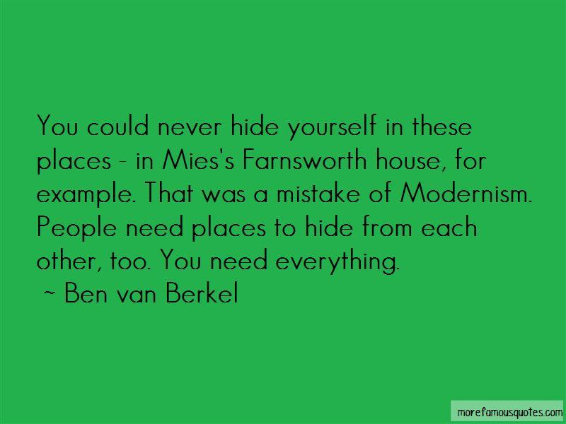 Farnsworth House Quotes