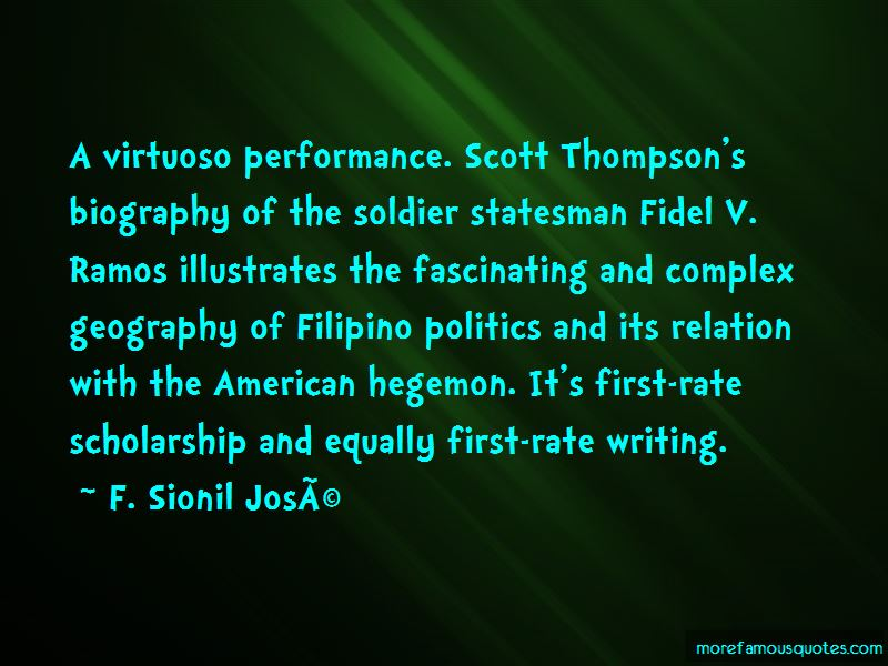 Fidel Ramos Quotes Pictures 2