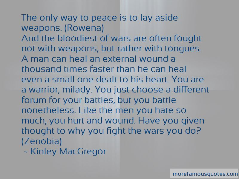 Fight Like A Warrior Quotes