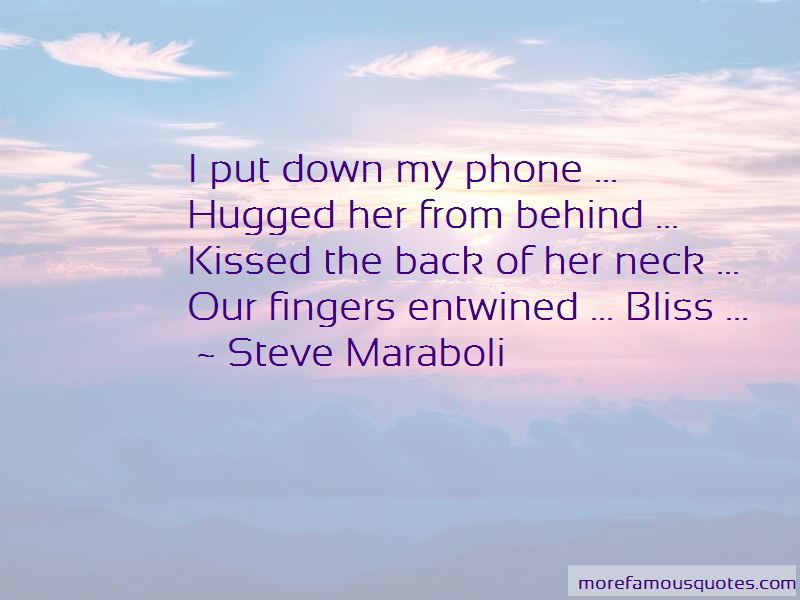Fingers Entwined Quotes