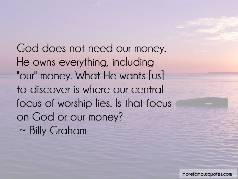 Focus On My Money Quotes Pictures 4