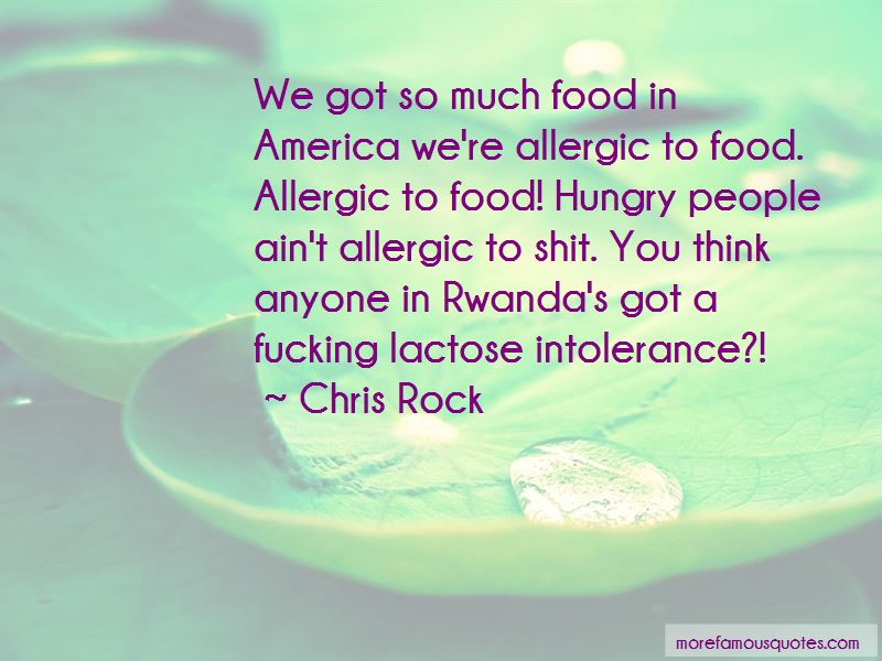 Food Intolerance Quotes Pictures 3
