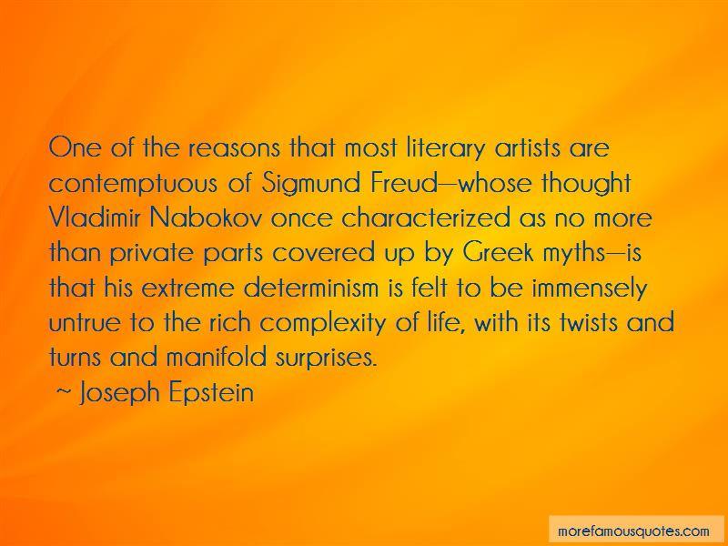 Freud Determinism Quotes
