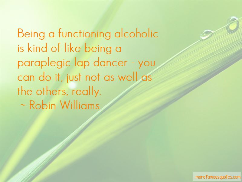 Functioning Alcoholic Quotes