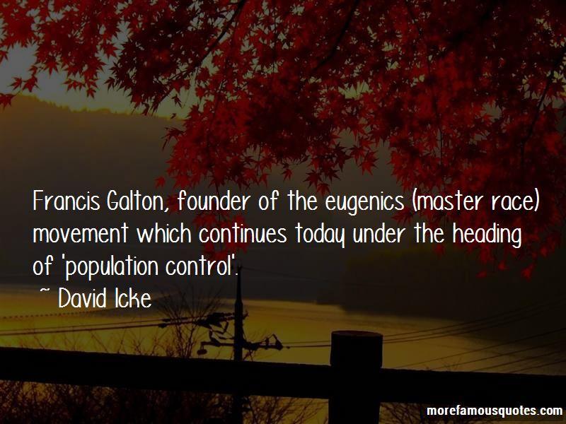 Galton Eugenics Quotes