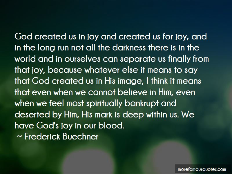 God Created Us In His Image Quotes Pictures 3