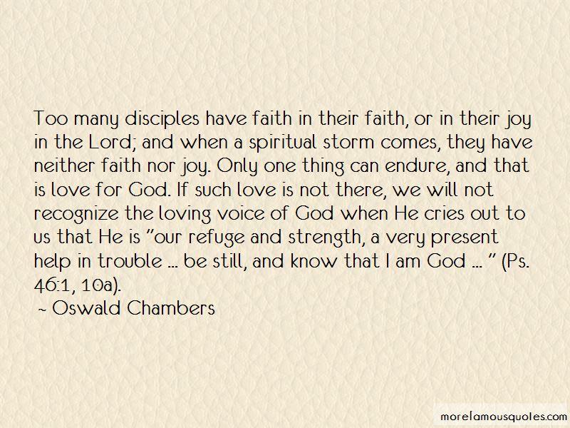 God Refuge Quotes
