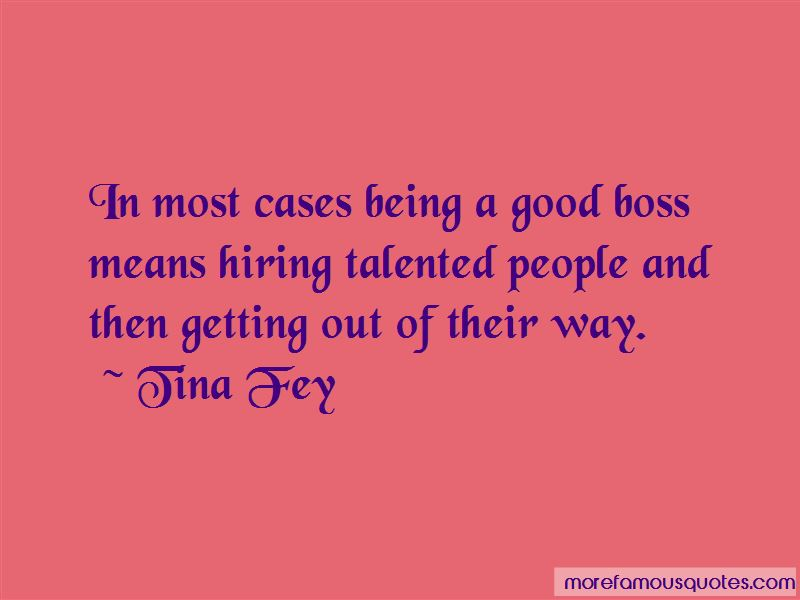 Good Boss Quotes Pictures 4