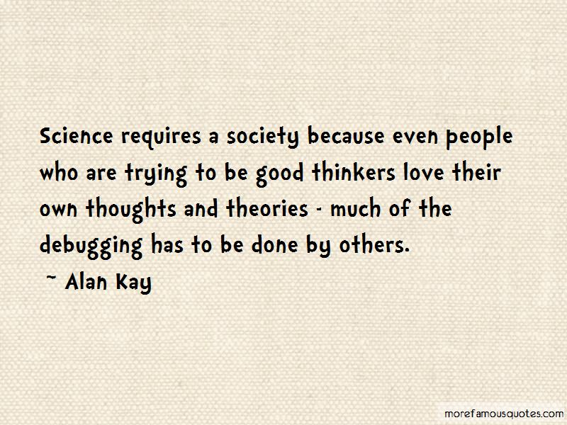 Good Thinkers Quotes