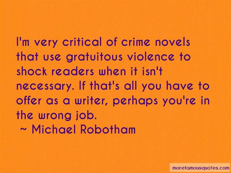 Gratuitous Violence Quotes