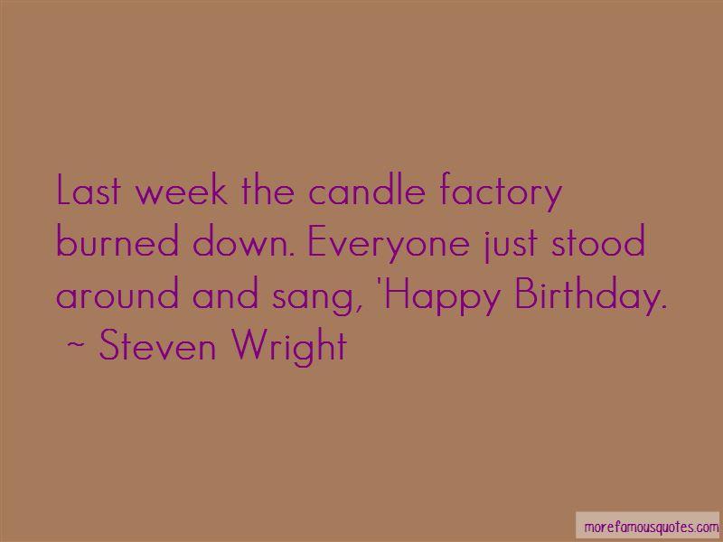 Happy Birthday Week Quotes