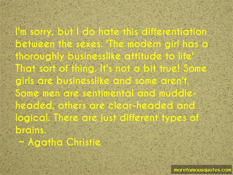 Hate Attitude Girl Quotes