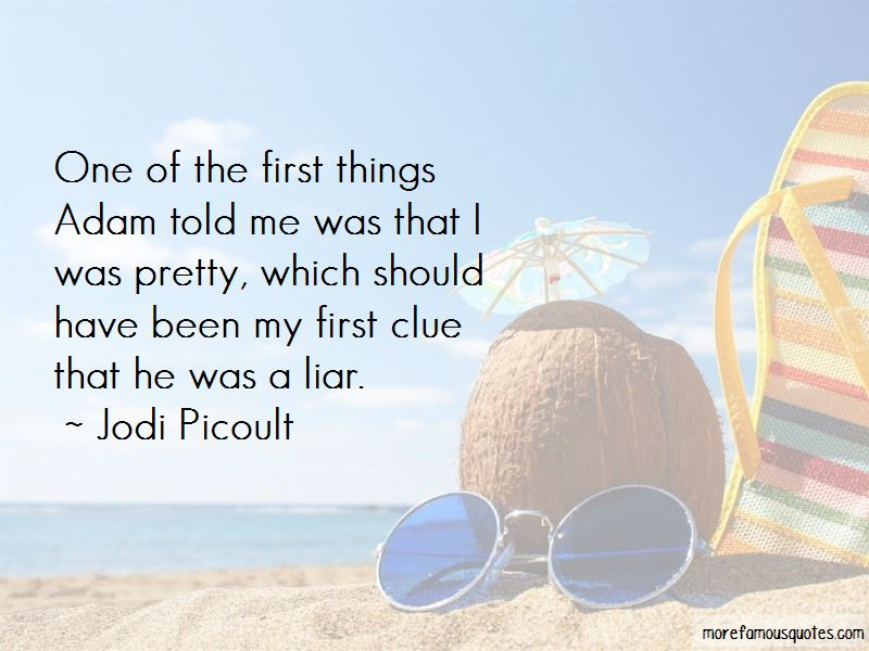 He Was A Liar Quotes