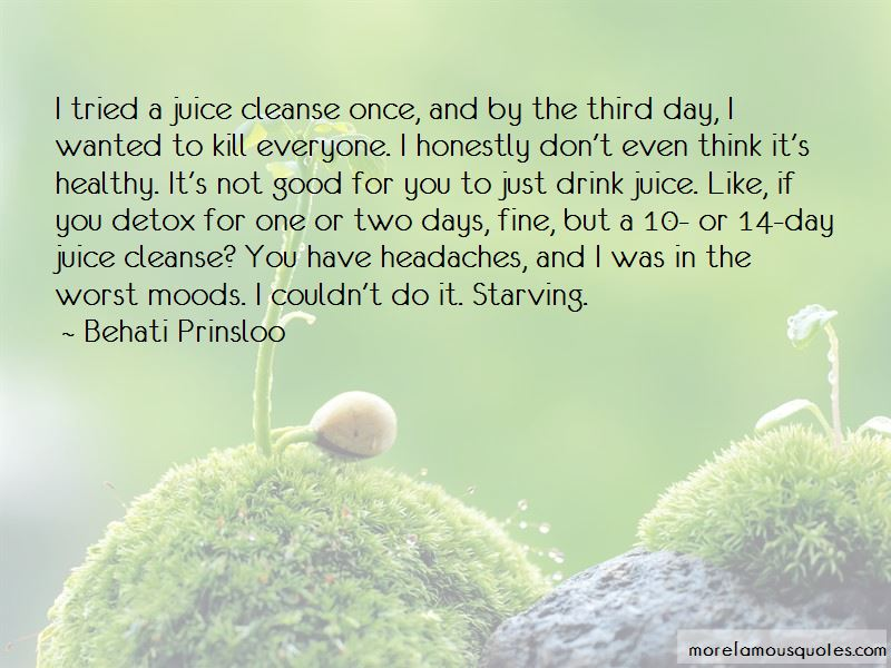 Healthy Detox Quotes Pictures 2