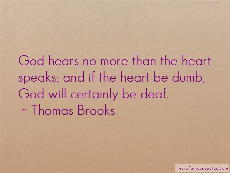 Heart Speaks Quotes