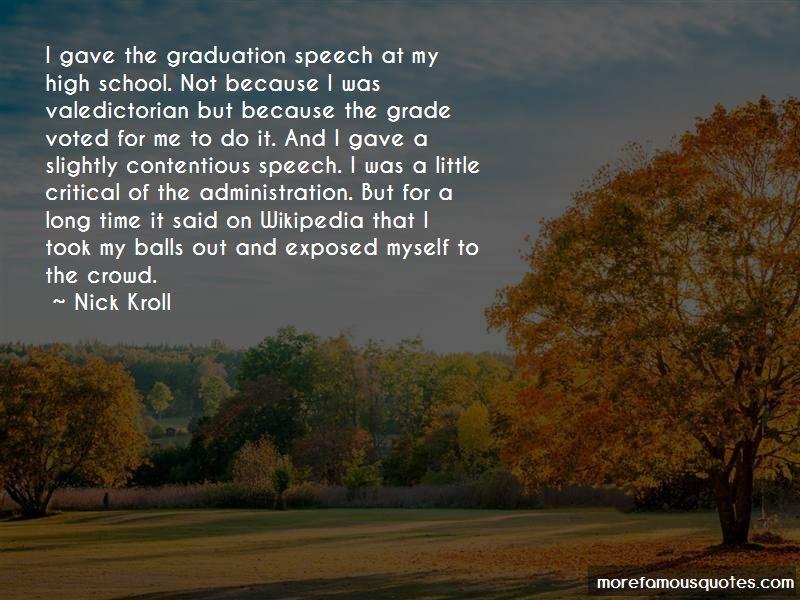 High School Valedictorian Speech Quotes
