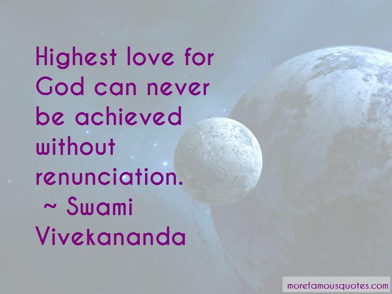 Highest Love Quotes
