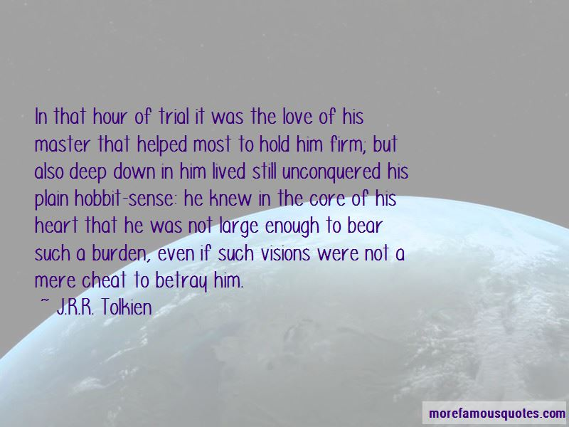 Hobbit Love Quotes Pictures 2