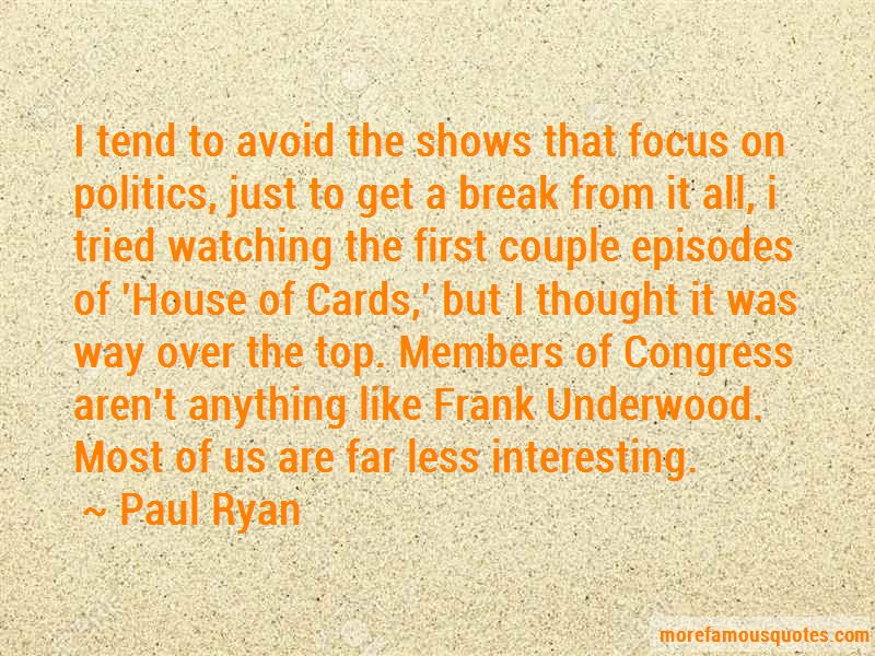 House Of Cards Top Quotes