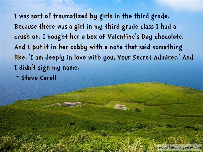 I Am Your Secret Admirer Quotes