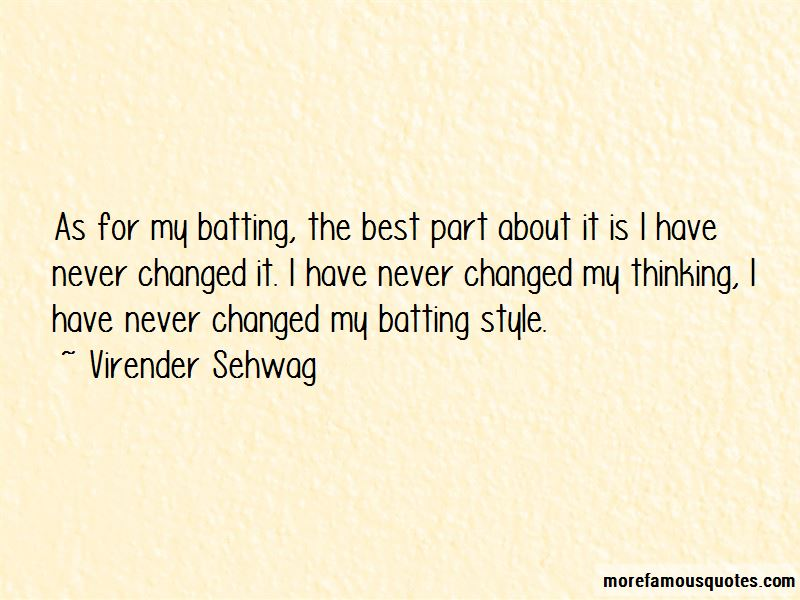 I Have Never Changed Quotes