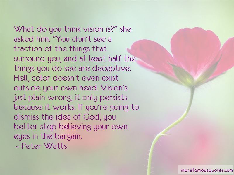 I See You In My Eyes Quotes