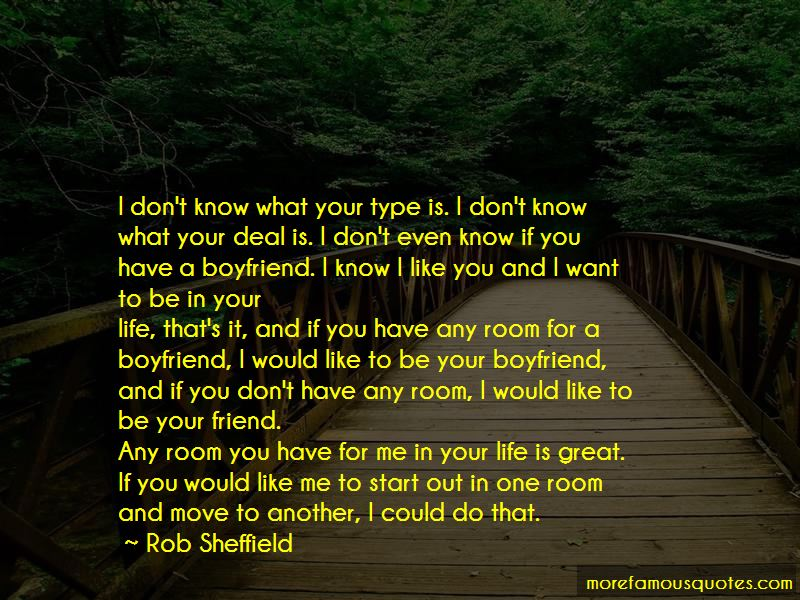 I Would Like To Be Your Friend Quotes
