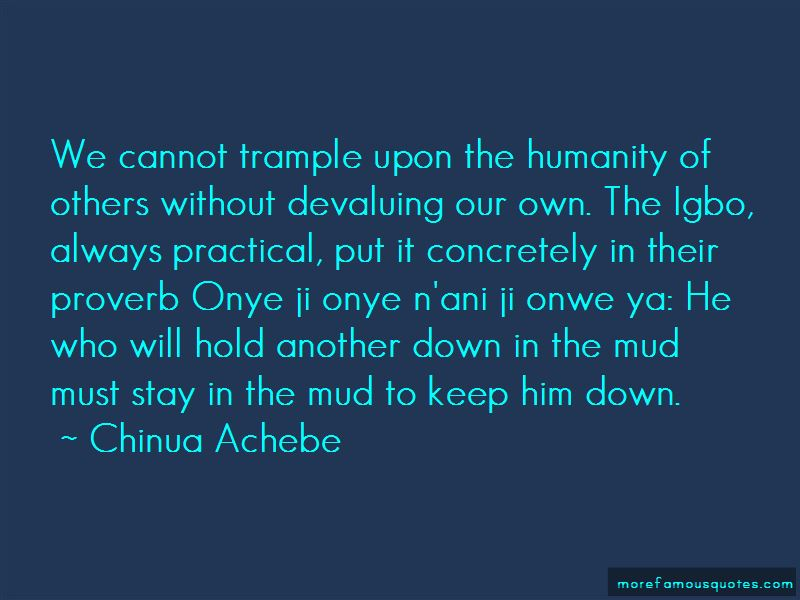Igbo Proverb Quotes