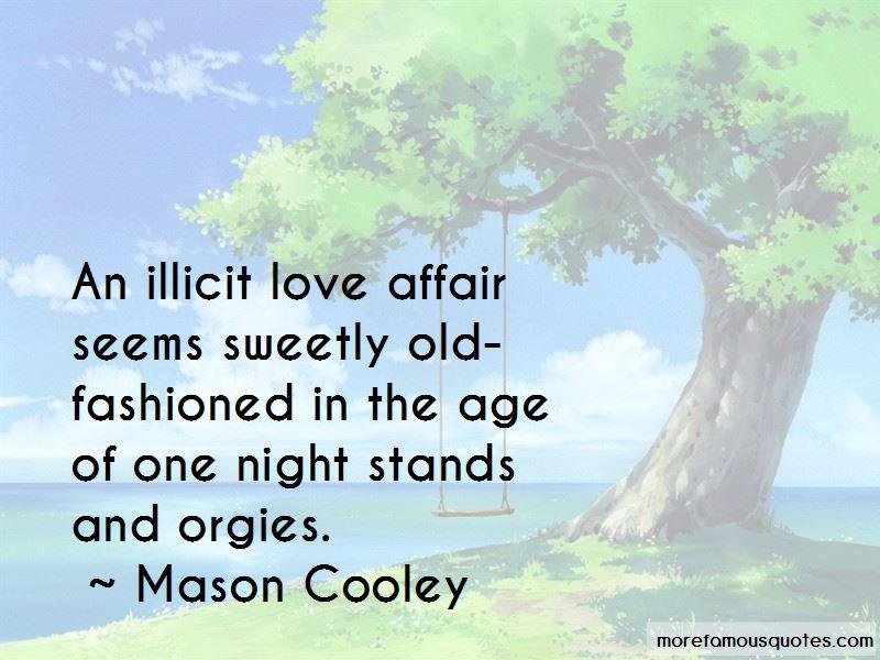 Illicit Love Affair Quotes