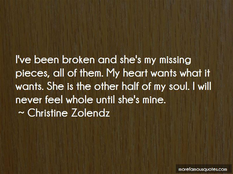 I've Been Broken Quotes