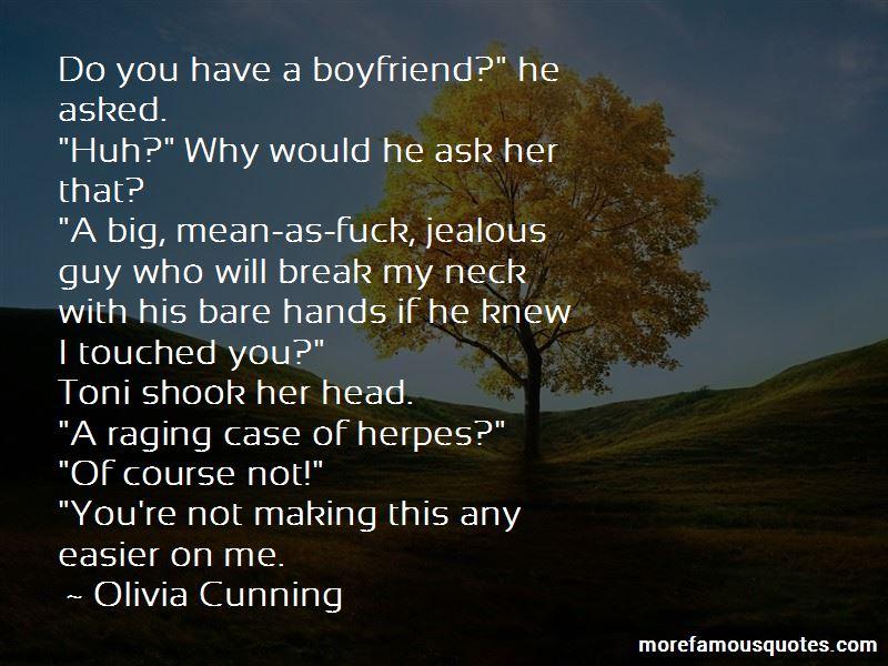 Jealous Of Boyfriend Quotes