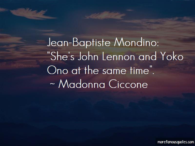 Jean Baptiste Mondino Quotes