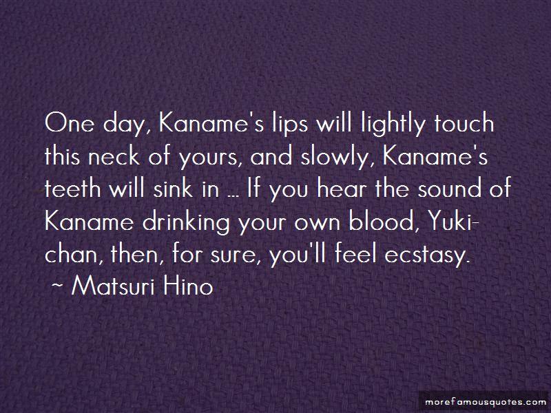 Kaname And Yuki Quotes
