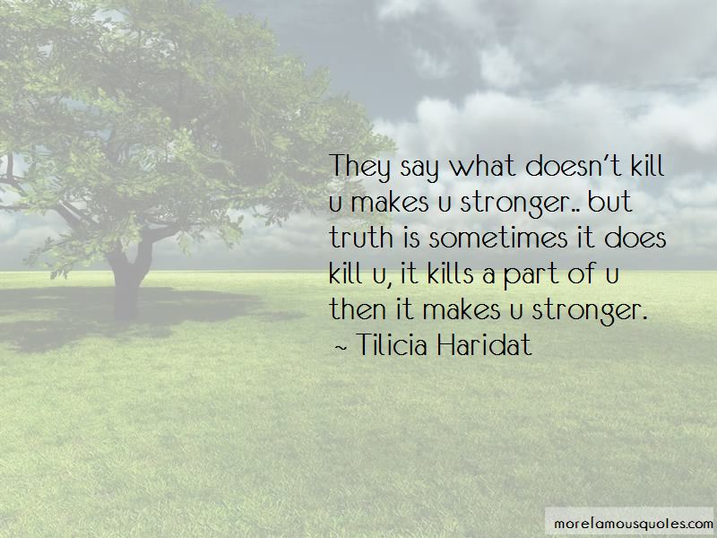 Kill U Quotes