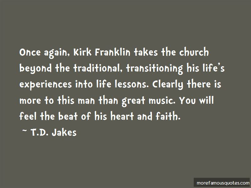 Kirk Franklin Music Quotes